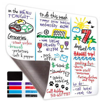 Magnetic Dry Erase Whiteboard Sheet